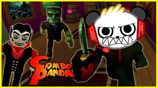 Halloween Edition Roblox Assassin Let's Play and Trick or Treat Challenge with Combo Panda