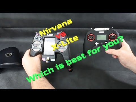 FLYSKY NIRVANA vs FRSKY TARANIS X LITE Which is best for you?