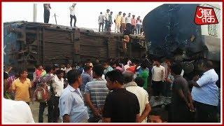 UP में बड़ा ट्रेन हादसा, New Farakka Express के इंजन समेत 9 बोगियां पलटने से अब तक 6 लोगों की मौत