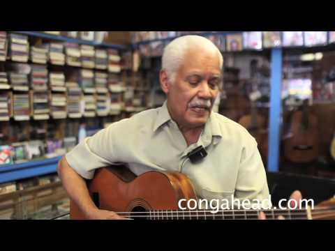 """A visit with composer and music store owner, Miguel """"Mike"""" Amadeo"""