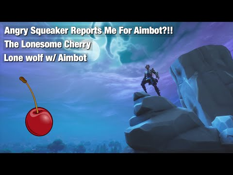 Angry Squeaker Reports Me For Aimbot?!! | ( Cherry ) | 50k HYPE!!!