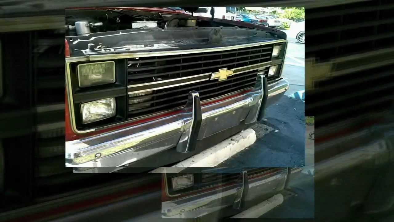Chevy c10 grill restoration integz motorhouse