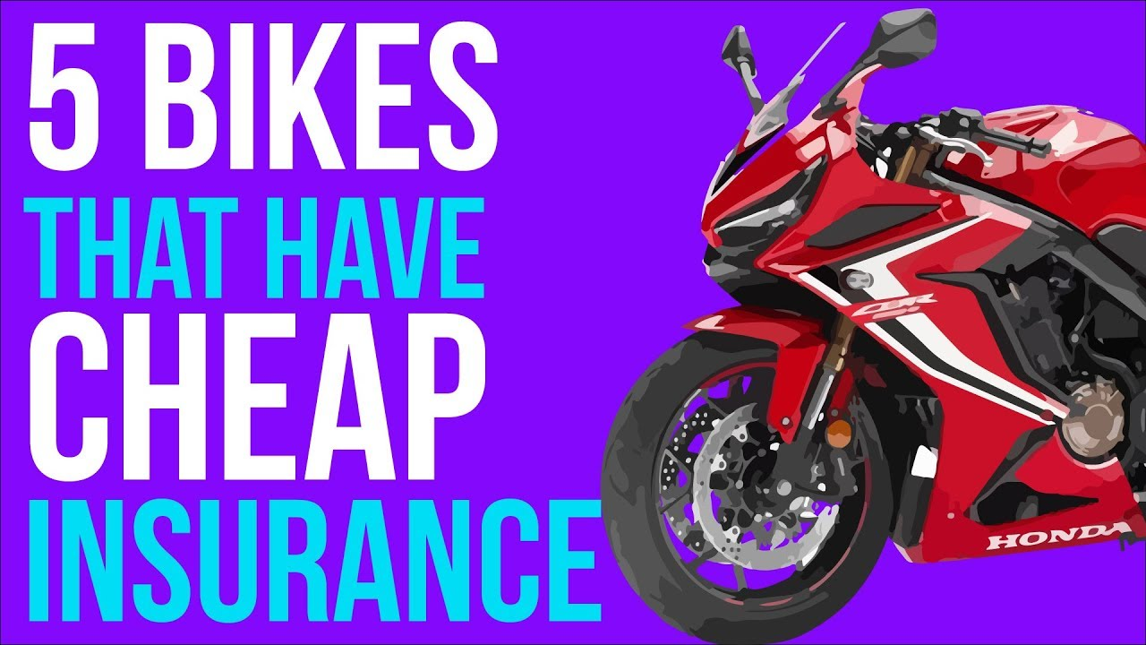 5 Fast Motorcycles Which Are Cheap On Insurance Youtube