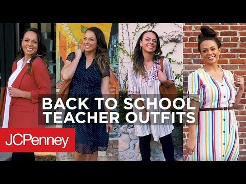 Back To School Teacher Outfit Ideas | JCPenney