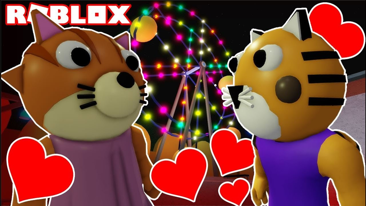 PIGGY - KITTY AND TIGRY FALL IN LOVE (Roblox Piggy Shorts Movie)