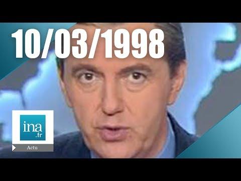 20H France 2 du 10 mars 1998   Carambolage monstre sur l'A31   Archive INA