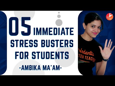5 Immediate STRESS BUSTERS for Students | How to Get Rid of Stress | Exam Stress Motivation