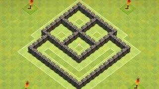 Clash of Clans - TH4 Farming Base 2