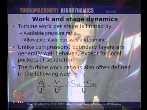 Mod-01 Lec-20 Axial Flow Turbines: Turbine Blade 2D (Cascade) Analysis