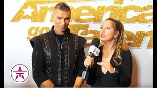 America's Got Talent: Aaron Crow Does NOT Want To Kill Howie Mandel!