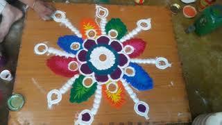 #Rangoli # Diwali decoration