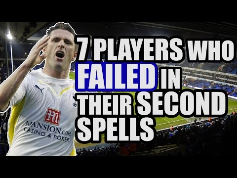 7 Players Who FAILED In Their Second Spells