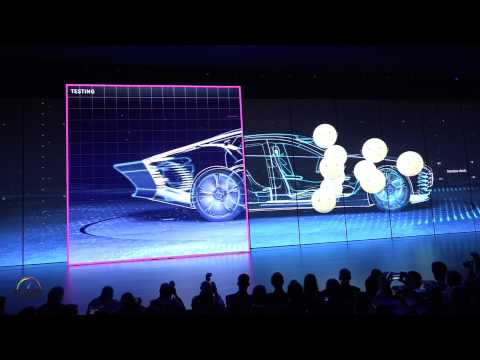 Mercedes-Benz Press Conference Intro at the Frankfurt Auto Show
