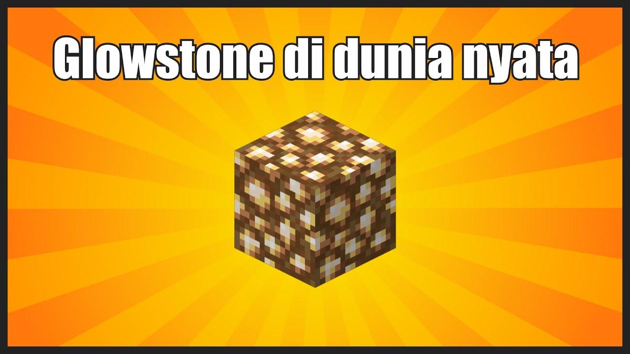 Glowstone Minecraft itu apa sih sebenernya? #shorts