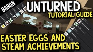 Unturned Steam Achievements And Easter Eggs Guide