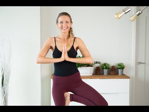 9664ee0950ff8 Grounding Yoga Sequence for The Root Chakra - Muladhara Chakra Yoga Flow |  Chakra Challenge - YouTube