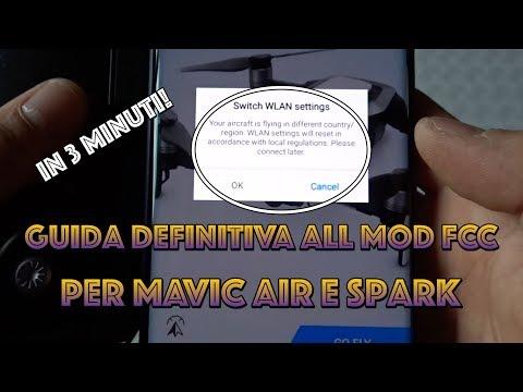 La guida DEFINITIVA per la modalità FCC su MAVIC AIR e SPARK! (Tutorial ITA)