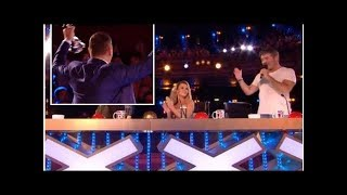 Simon Cowell jokes that 'vote was rigged' during fight with David Walliams on Britain's Got Talent