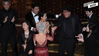 """For the first time in Oscars' 92 year history, S. Korean movie """"Parasite"""" takes home """"Best Picture"""""""
