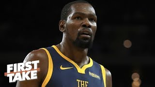 Kevin Durant is going to come back stronger from his Achilles injury - Ryan Hollins | First Take