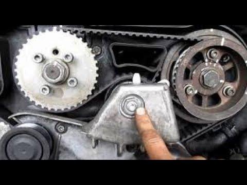 Фото к видео: Замена ГРМ. Audi A6C5 2.5 TDI V6