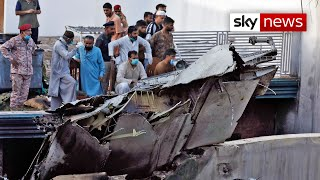 At Least Two Survivors After Pakistan Pk 8303 Plane Crash