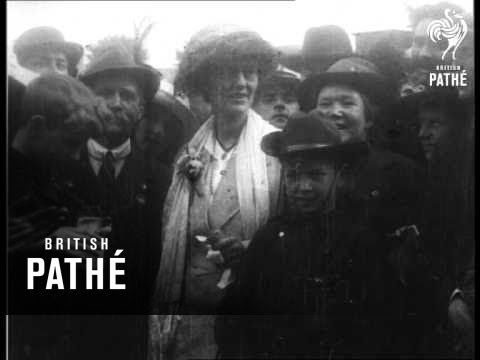 Countess Markievicz  Sinn Fein - Only Woman Returned In Irish Elections 1918 (1918)