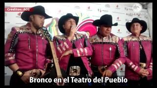 Con éxito rotundo BRONCO se presenta en el Teatro del Pueblo de la Feria en Michoacán