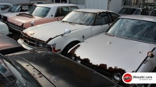WasabiCar heaven! Wall-to-wall grungy, old JDM's!