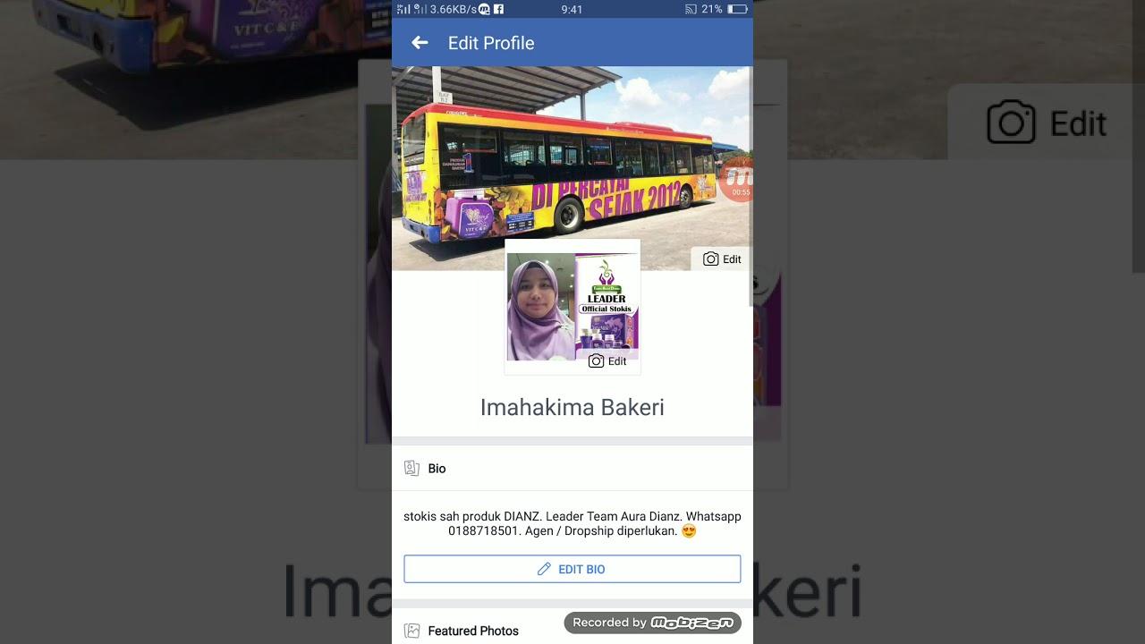 Cara Edit Bio Di Facebook