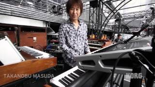 TAKANOBU MASUDA talks about KORG  KRONOS