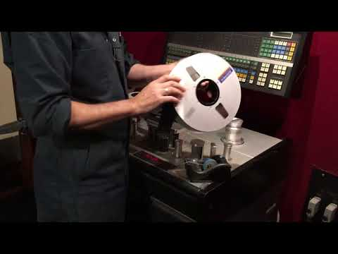 Steve Albini cutting and splicing tape