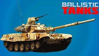 ТАНКИ - Игра с графикой как мультик про танки, веселое видео для детей танковые сражения.(Ballistic Tanks - игровое видео для детей, танковые бои с прикольной графикой и множеством уровней. Графика как..., 2016-10-01T14:00:04.000Z)