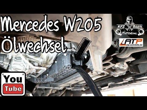 mercedes-w205-cdi-Ölwechsel-+-service-reset-|-anleitung-|-oil-change-+-filter