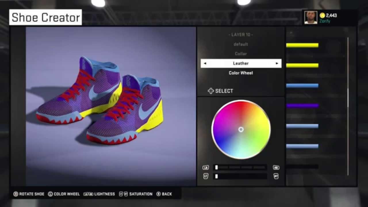 check out e68ee 78b2a NBA 2K15 Shoe Creator - Nike Kyrie 1 GS