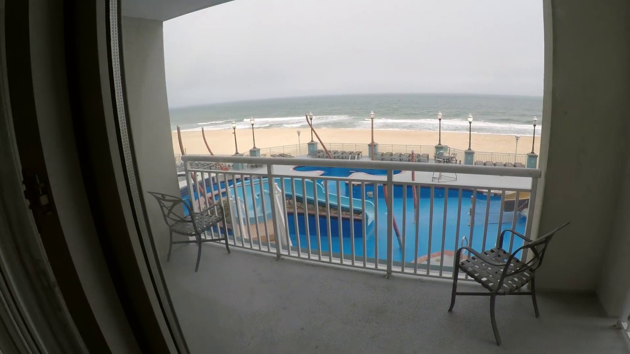 Holiday Inn & Suites: Ocean City Maryland - BEACHFRONT - Suite Tour ...