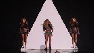 Beyoncé Run The World Girls Music Award 2011   Video Mapping, Computer Graphics & Rhytmic Dancing