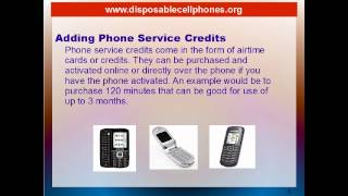 What Are Disposable Cell Phones?