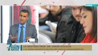(Kanal 58) Ali İzgi İle 7 Gün Hayat Programı Rektör Prof. Dr. Kocacık