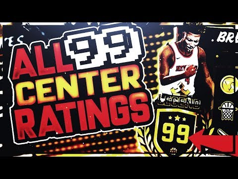 NBA 2K18 ALL 99 OVERALL CENTER BIGMAN RATINGS, BUILDS, BADGES - BEST 99 RATINGS FOR ALL ARCHETYPES