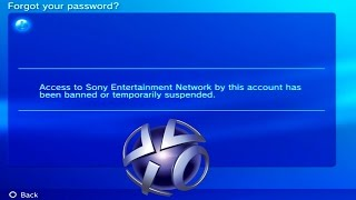BANNED FROM PLAYSTATION NETWORK FOREVER!