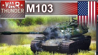 M103 na mapie Polska - War Thunder
