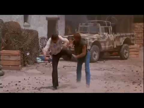 Chuck Norris  Lone Wolf McQuade final fight with David Carradine