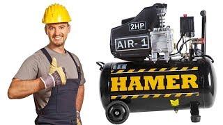 Какой компрессор выбрать? Смотреть обзор HAMER AIR-1.