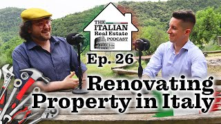 Renovating Property in Italy