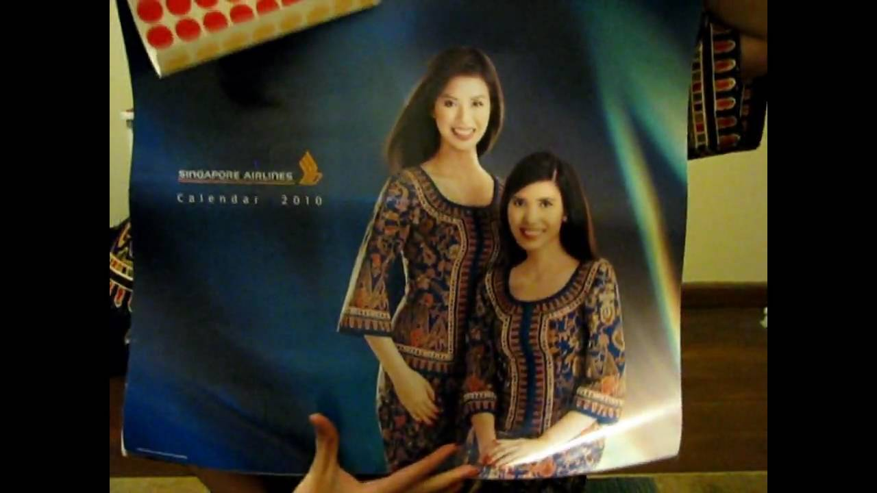 Calendar Sia : Singapore airlines calendar youtube