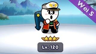 【Wei S】8☆ Commander Moon review 司令官饅頭人-巨錨技能 司令官ムーン (Stage 252   264) LINE Rangers