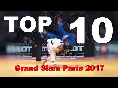 TOP 10 IPPONS   柔道 Judo Grand Slam París 2017   JudoAttitude