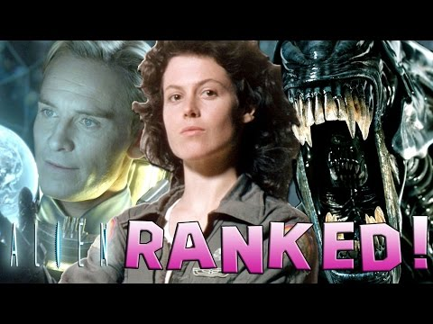 7 Alien Franchise Movies Ranked