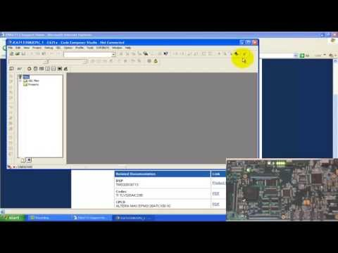 TMS320C6713 DSK Quick setup and Test example programs